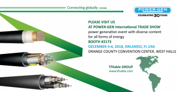 TFKable Group at POWER-GEN trade show, USA