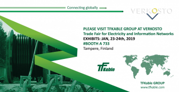 TFKable Group at Verkosto trade show, Tampere, Finland