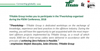 TFworkshop with the TFKable Group at the PSEW Conference, 2018