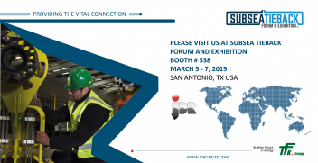 JDR and TFKable will be presenting The Vital Connection for the offshore Oil & Gas sector during Subsea Tieback Show