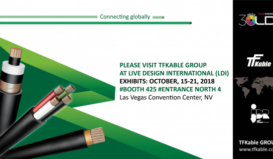 TFKable Group at Live Design International (LDI), Las Vegas