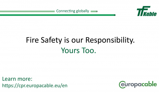 Europacable ready to launch a multi-stakeholder communication campaign on CPR Awareness
